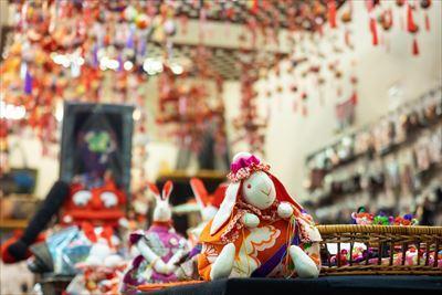 一点ものの和小物が揃う8号館地下1階「愛スタイル」などで、大阪の思い出を持ち帰ろう。数ある中からお気に入りを探すのも楽しい。