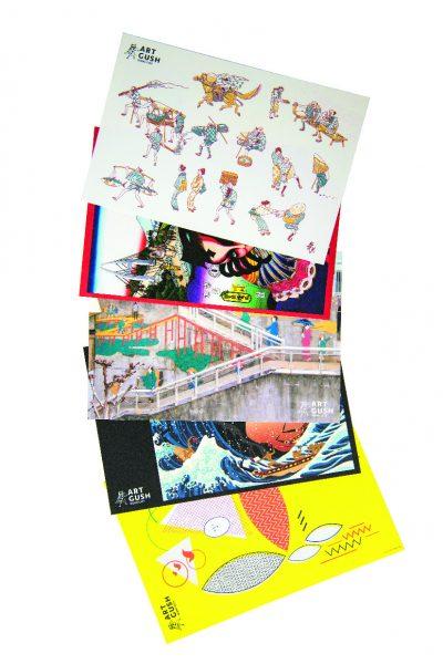ミュージアムタウンポストカード Aセット10枚組 500円