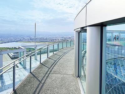 39F・40F・屋上◆空中庭園展望台